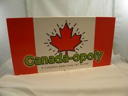 Canada opoly Board Game Eh Late for the Sky Toys USA Canadian Monopoly Complete $19.49