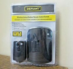 New Defiant Wireless Indoor Outdoor Remote Control Switch 202 620 1117 $12.99