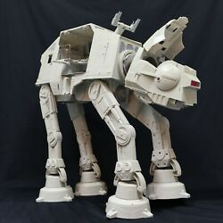 as is incomplete Hasbro Star Wars AT AT Walker 2010 Legacy for parts diorama $79.00