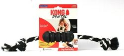 Kong Extreme Dental With Rope Power Chewer Insert Treat Med Dog Toy Tough Rubber $27.99