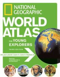 National Geographic World Atlas For Young Explorers 3rd Edition $4.48