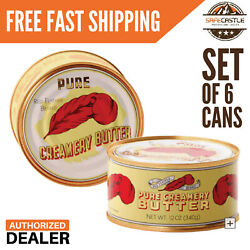 New Red Feather Canned Butter A real butter from new Zealand 100% pure 6 Cans $56.00