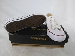 Converse All Star Womens Shoes W7652 Ox Optical White US 8 $49.72