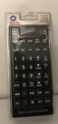 Jumbo Universal Remote TV VCR DVD SAT Cable Control Big Button Remote Large NEW $26.99