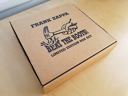 Frank Zappa Beat The Boots Limited Edition Box Set Excellent Make Offer $175.00