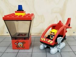 Lego Duplo 5601 Fire Station Helicopter Control Tower and Figure $24.99