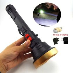 Fishing hunting LED FlashLight Torch USB rechargeable Lamp Tactical Lanterna $10.99