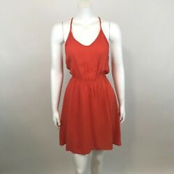 Lush Dress Size S Mini Fit and Flare Sleeveless V Neck Strappy Back Nordstrom $19.99