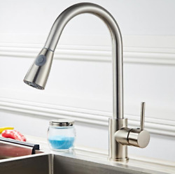 All Copper Kitchen Pull Faucet $36.99