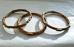 3 rings for arm holder Antique Cast Iron Ornate hanging oil Lamp parts $89.00