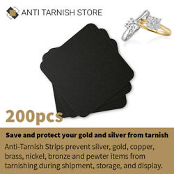 200pcs Anti Tarnish Paper Tab Strips for Silver Gold amp; Jewelry Protection $34.94