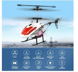 DE51 Remote Control Helicopter RC Helicopters Gyro 2 Battery 2 Shell Auto Hover $24.00