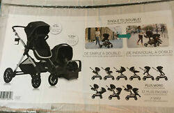 Evenflo Pivot Xpand Baby Stroller SafeMax Infant Car Seat Travel System Stallion $339.00