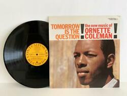 Ornette Coleman Tomorrow Is The Question 1959 Contemporary S7569 LP Very Good $45.00