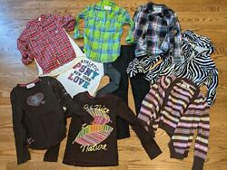 Girls Size 12 Clothing Lot Guess GAP Justice Aeropostale $27.00