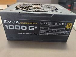 EVGA SUPERNOVA 1000 G 80 Plus Gold 1000W Fully Modular Power Supply amp; Cables $219.99