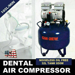 Dental Delivery Cart Unit SystemPortable Dental Air Compressor Oil Free Tank $946.01