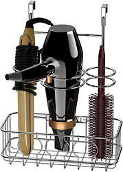 Over Cabinet Door Grid Hair Styling Station amp; Organizer For Blow Dryer Bathroom $23.58