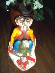 Vintage Shade Tree Creations 1991 THE SKIER 6 1 2quot; Tall $20.99