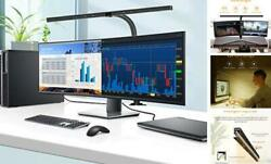 LED Desk Lamp 24 Watts Office Desk Lamps with Architect Clamp Workbench Black $106.24