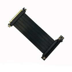 Durable Portable GPU Vertical Bracket Part Kits Holder Pci E Riser Cable 220mm $44.25