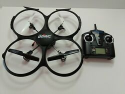UDI RC U818A Discovery RC Drone 720p Quadcopter HD FOR PARTS $14.99