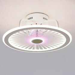 Modern Ceiling Fan With Light Remote Control LED Ceiling Lamp Dimmable Bedroom A $89.99