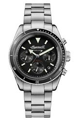 Ingersoll Mens The Scovill Chronograph Stainless Steel Quartz Watch I06201 $219.99