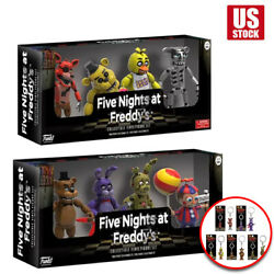 4 pcs Five Nights at Freddy#x27;s FNAF Action Figures holiday surprise xams gift USA $15.99