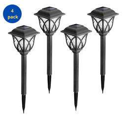 Solar Pathway Lights Outdoor for yard patio landscape 3 Packs Warm White