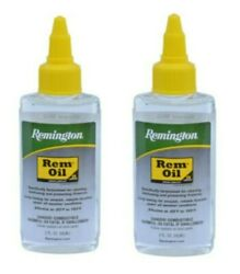 2 Pack Remington Rem Oil Firearm Lubricant and Cleaner 2 Ounces Each # 18366 $13.99