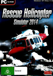 Rescue Helicopter Simulator 2014 PC GAME GREAT CONDITION AU $34.05