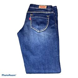 Levi's 524 For Too Super Low Juniors Size 7 M Jeans $14.50