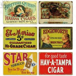Metal Tin Signs Club Retro Smoker Beer Club Classic Wall Mounted Home Plaques $69.99
