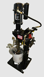 ARO Ingersoll Rand 650692 R43 B 46:1 6quot; 5 Gallon Air Pump amp; 651615 C Lift Used $1650.00