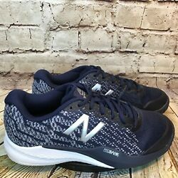 New Balance 996 Womens Wide Fit Blue Low Lace Up Tennis Shoes Size 9.5 EE $41.97