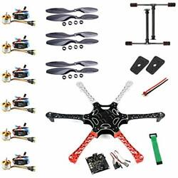 F550 Airframe RC Hexacopter Drone Kit DIY PNF No Battery and Remote Controller $225.25