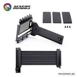 Vertical GPU Mounting Kit Universal Bracket 7 PCI Slots Case Modding Used $56.38