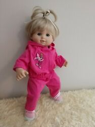 Cute for Spring pink pants amp; jacket Piglet trim handmade for BittyToddler twin $21.00