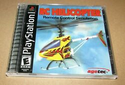 RC Helicopter for Playstation PS1 Complete Fast Shipping $8.95