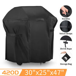 30In BBQ Barbecue Grill Cover Waterproof Heavy Duty Outdoor Small Gas Protector $15.99