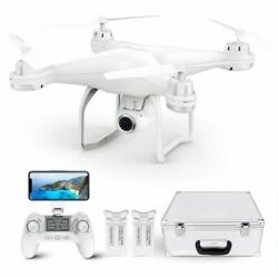 Potensic T25 Drone with 2K HD Camera FPV GPS WiFi Live Video RC Quadcopter Combo $149.99