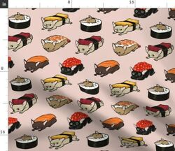 Sushi Chihuahuas Funny Novelty Food Spoonflower Fabric by the Yard $22.00