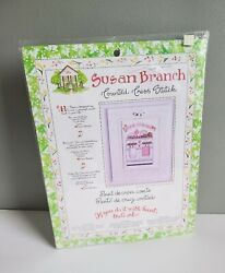Susan Branch Counted Cross Stitch Kit Kitchen Theme Home Cooking $19.99