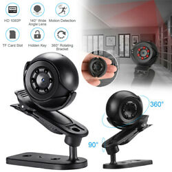 Night Vision Small Camera Hirono Wireless With Accessories QS60 HD1080p charged $12.79