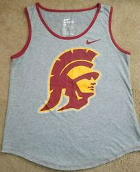 Preowned USC TROJANS NEW NIKE COLLEGE TANK TOP WOMENS MEDIUM