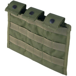 Flyye Tactical Triple Magazine Ammo Pouch Ver. Mi MOLLE System Ranger Green $49.95