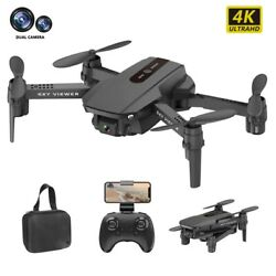 Mini Drone 4K 1080P 720P Dual Camera WIFI FPV Aerial Photography Helicopter Toys $17.23