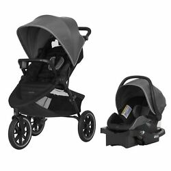 Evenflo Folio3 Stroll amp; Jog Travel System Avenue $124.95