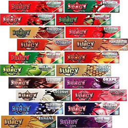 Juicy Jay#x27;s Rolling Papers 1 1 4th Variety 10 Packs $13.95